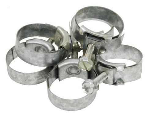 Corvette Heater Hose Clamp Kit (Late 68-79 Early), 1968-1979