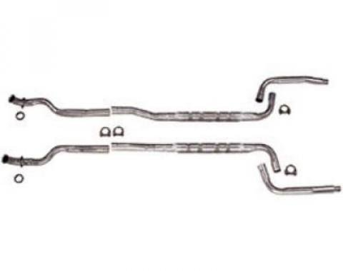 "Corvette Chambered Exhaust System, High Performance, 2.5"", Automatic, 1974-1979"