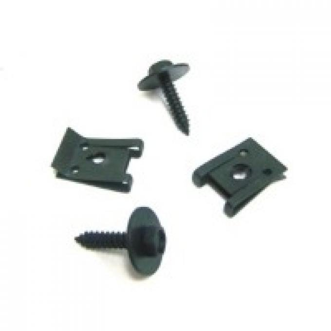Corvette Side Air Cleaner Duct Mounting Hardware, 1978-1982