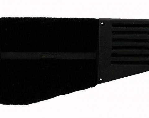 Corvette Rear Speaker Grille, Coupe Left, Black, 1988-1996