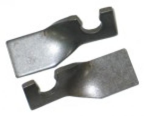 Corvette Parking Brake Cable Guide Brackets, on Trailing Arm, 1965-1982
