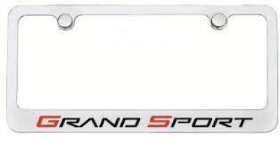 Corvette Elite License Frame, Grand Sport