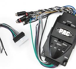 Corvette Universal 4-Channel Line Output Converter, 1984-1989