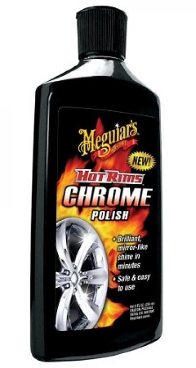 Corvette Hot Rims Chrome Polish, 8 Ounce