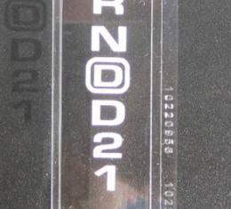 Corvette Automatic Shifter Indicator Lens, 1994-1996