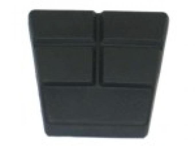 Corvette Brake or Clutch Pedal Pad, with Manual Transmission, 1984-1989