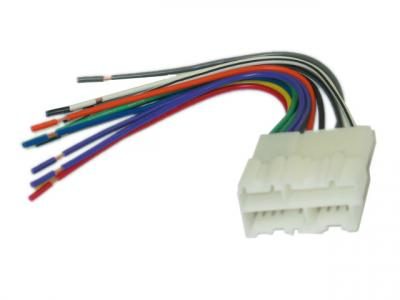 Corvette Radio Wire Harness With Plug, Custom, 1988-1996