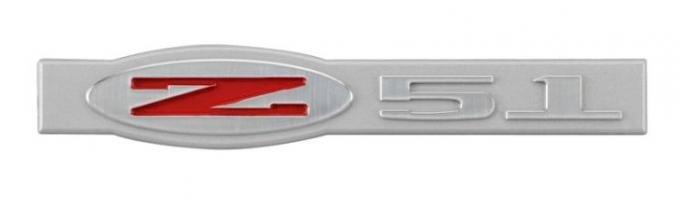 Corvette Z51 Billet Emblem, 1997-2013
