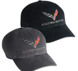 Corvette C7 Premium Garment Washed Cap