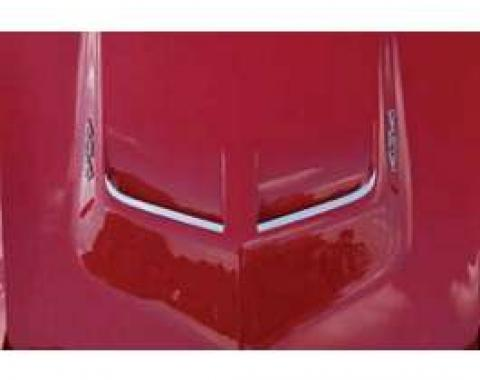 Corvette Hood Inserts, Big Block or LT1, 1968-1972