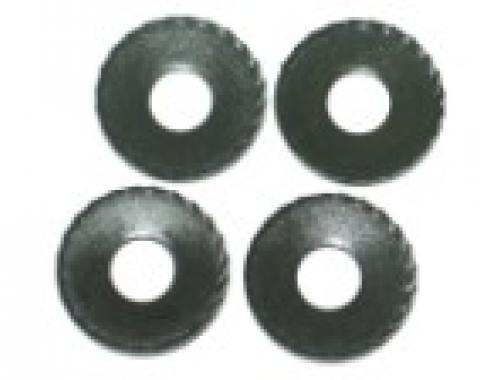 Corvette Radiator Support/Bumper Serrated Washer, 7/16 Inside Diameter, Set of 4, 1973-1979