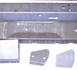 Corvette Frame Repair Section, Side Rail 48 Inch, Right, 1978-1982