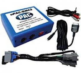 Corvette iPod and Aux Input Interface Adapter with HP Radio Option, 2005-2013