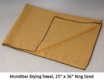 "Microfiber Drying Towel, 25"" x 36"""