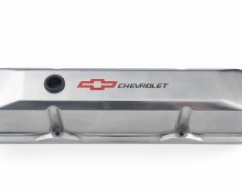 Corvette Die-Cast Aluminum Chevrolet Valve Covers, 1963-1986