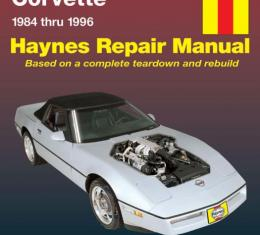 Corvette Haynes Repair Manual, 1984-1996
