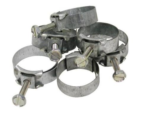 Corvette Heater Hose Clamp Kit, Late 1968-1972