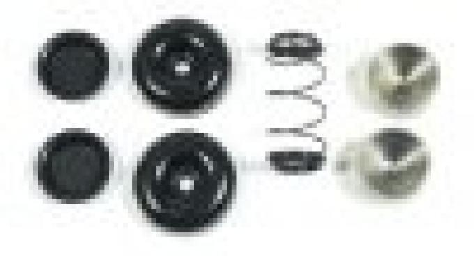 Corvette Wheel Cylinder Repair Kit, Heavy Duty with Pistons, Rear, AC Delco, 1956-1962