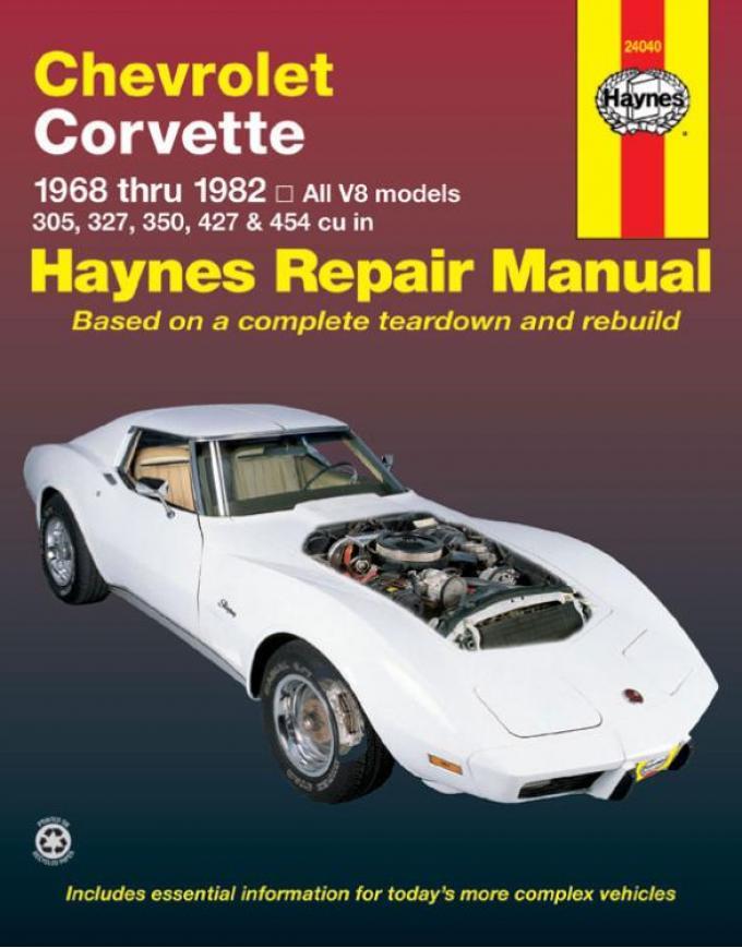 Corvette Haynes Repair Manual, 1968-1982