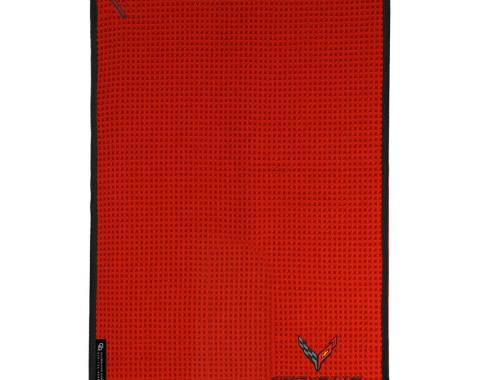 Golf's Finest Microfiber Cart Towel - Next Generation Corvette, Red
