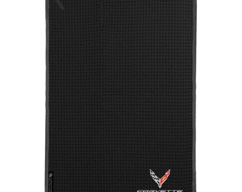 Golf's Finest Microfiber Cart Towel - Next Generation Corvette, Black