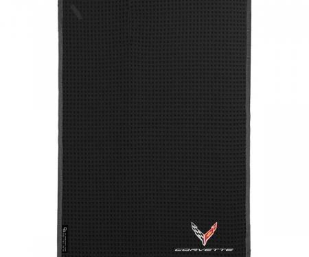 Golf's Finest Microfiber Cart Towel - Next Generation Corvette, Black