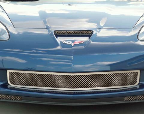 American Car Craft 2005-2013 Chevrolet Corvette Grille Laser Mesh Front Z06 042043