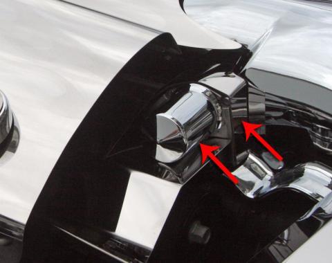 American Car Craft Chevrolet Corvette 2005-2007  Throttle Body Motor Cover w/cap (option for #043101) 043109