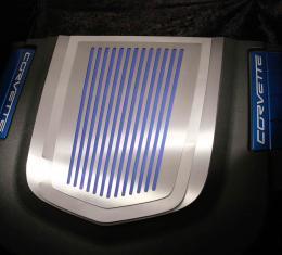 American Car Craft Chevrolet Corvette 2009-2013  Engine Shroud Cover ZR1 2pc Ribbed 043074