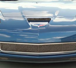 American Car Craft Chevrolet Corvette 2006-2013  Grille Laser Mesh Front Z06 042043