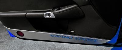 American Car Craft Chevrolet Corvette 2005-2013  Door Guards Grand Sport Style Satin 2pc 041049-RD