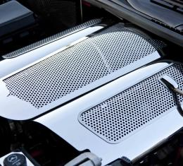 American Car Craft Chevrolet Corvette 2006-2013  Plenum Cover Perforated Low Prof ONLY w/043086, 043087, 043088 043090