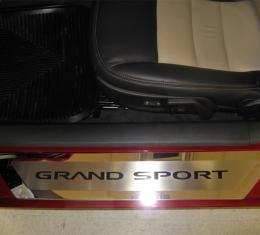 American Car Craft Chevrolet Corvette 2006-2013  Doorsills Executive/Carbon Fiber Grand Sport Style GML 041052