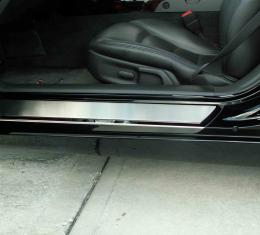 American Car Craft Chevrolet Corvette 2005-2013  Doorsills Polished Outer w/Satin Inserts Stock 041013