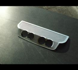 "American Car Craft Chevrolet Corvette 2005-2013  Exhaust Filler Panel BB RTE 66 4"" Round Quad Perforated 042023"