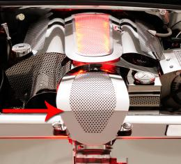 American Car Craft Chevrolet Corvette 1997-2004  Air Tube Cover Perforated fits Factory Filter 033067