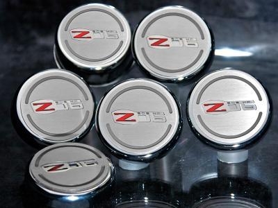 American Car Craft Chevrolet Corvette 2006-2013  Cap Cover Set Z06 505HP GM LICENSED 6pc 043102