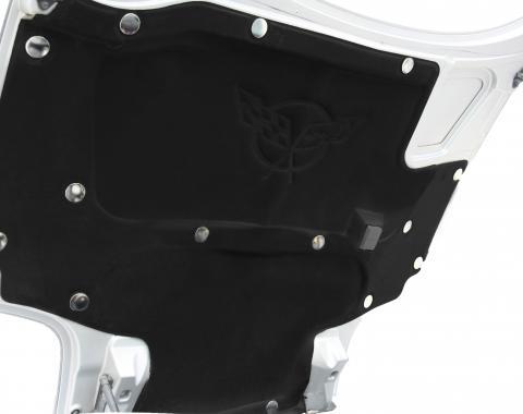 American Car Craft Chevrolet Corvette 1997-2013  Hood Liner Fasteners Nickel Plated 15pc Kit 043081