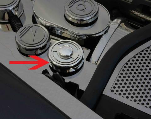 American Car Craft 2005-2013 Chevrolet Corvette Emblem Rings Polished 2pc 042080