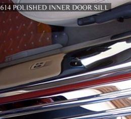 American Car Craft Chevrolet Corvette 2005-2013  Doorsills Polished Inner 041025