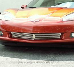American Car Craft Chevrolet Corvette 2005-2013  Grille Polished Billet Style Front C6 042040