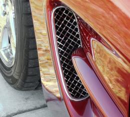 American Car Craft Chevrolet Corvette 1997-2004  Vent Grilles Laser Mesh Side Vents 032021