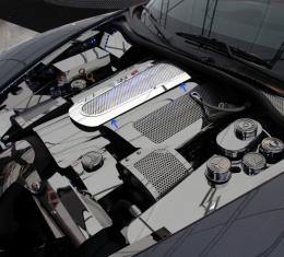 American Car Craft Chevrolet Corvette 2008-2013  Plenum Cover Perforated Low Prof ONLY w/043051, 043052, 043053 043055