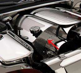 American Car Craft Chevrolet Corvette 1997-2004  Fuel Rail Perforated Passenger Replacement Cover End Cap 033049
