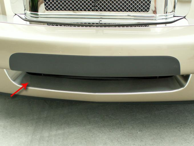 American Car Craft 2005-2013 Chevrolet Corvette Bumper Grille Insert Polished Front Lower 422018