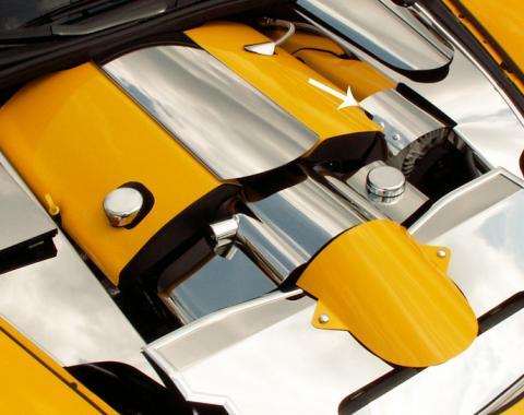 American Car Craft 2015-2019 Chevrolet Corvette Alternator Cover Polished 043033