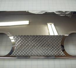American Car Craft Chevrolet Corvette 2005-2013  Exhaust Filler Panel Corsa 4.0 Dual 2 Tip Laser Mesh 042012