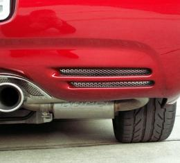 American Car Craft Chevrolet Corvette 1997-2004  Vent Grilles Perforated Rear Bumper  2pc 032016