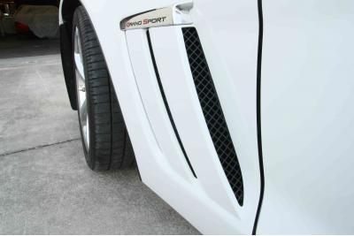 American Car Craft Chevrolet Corvette 2005-2013  Vent Grille Laser Mesh Side 6pc Front Black Powder Coat Stealth 042095