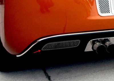 American Car Craft Chevrolet Corvette 2005-2013  Reverse Light Covers Laser Mesh Black Stealth 2pc 042107